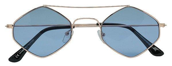 Óculos de Sol Masculino E Feminino AT 4125 Cobre/Azul
