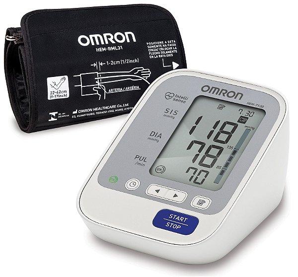 Monitor de Pressão Arterial de Braço HEM7130 Omron