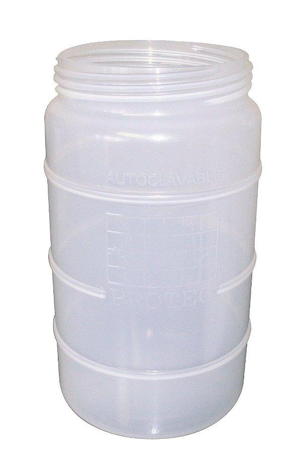 Frasco para Aspiração 1,5 Litros Autoclavável 121°C
