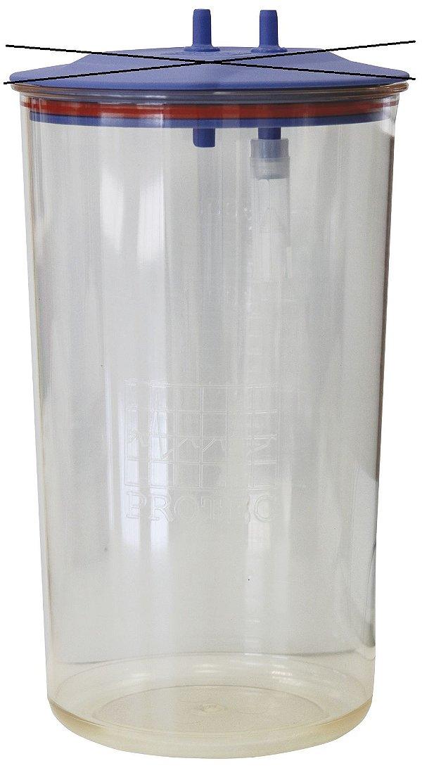 Frasco para Aspiração 5 Litros Autoclavável 134°C