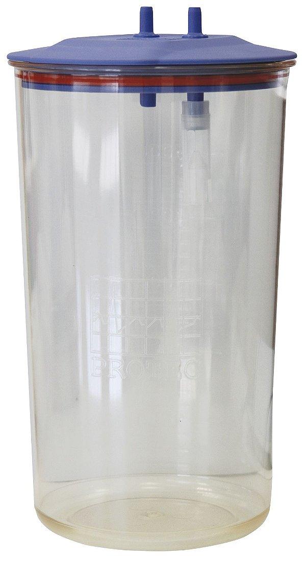 Frasco para Aspiração 5 Litros Autoclavável 134°C (Com Tampa Boia)