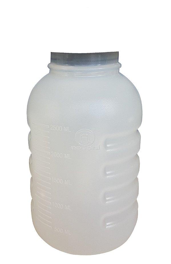 Frasco para Aspiração 3,250 Litros Autoclavável 127°C Nevoni