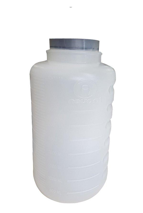 Frasco para Aspiração 5 Litros Autoclavável 127°C Nevoni