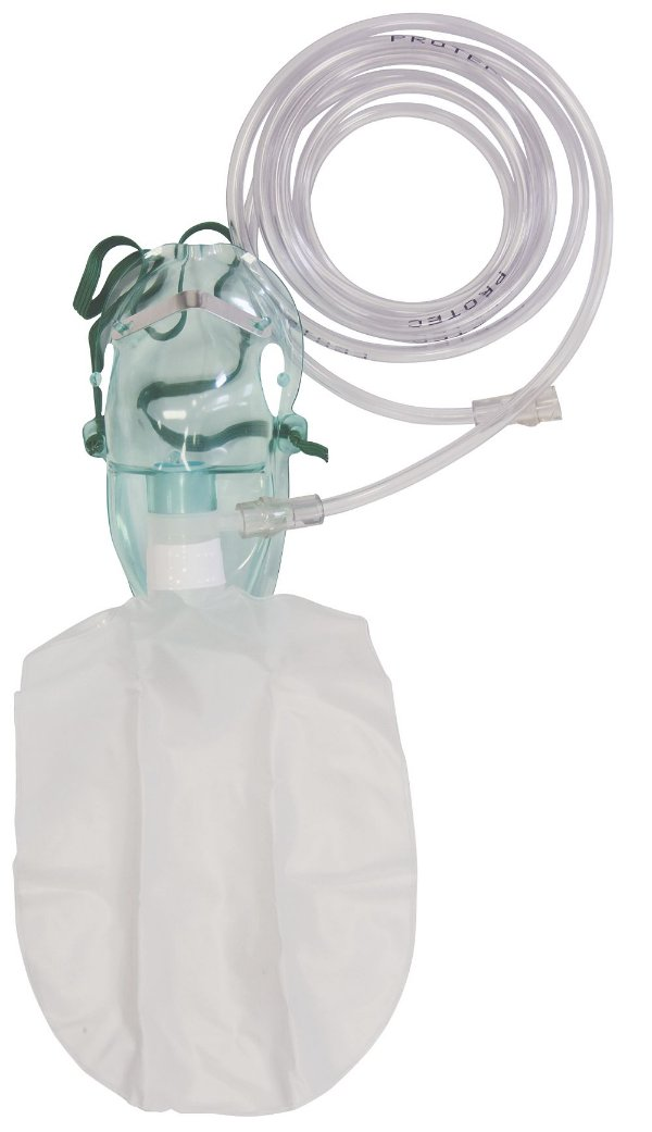 Máscara de Alta Concentração de Oxigênio Infantil