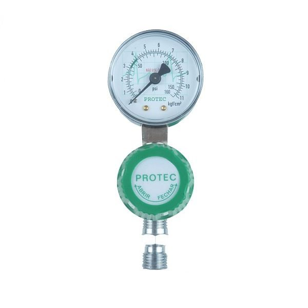 Válvula Reguladora para Rede de Oxigênio