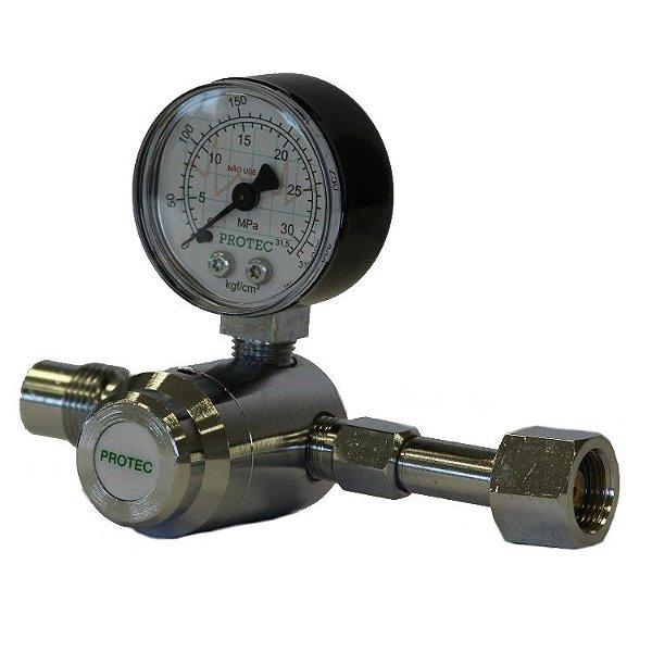 Válvula Reguladora para Cilindro de Oxido Nitroso
