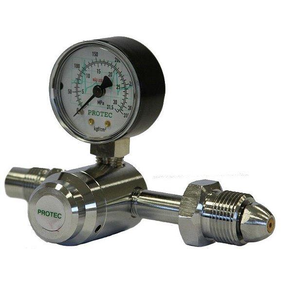 Válvula Reguladora para Cilindro de Nitrogênio