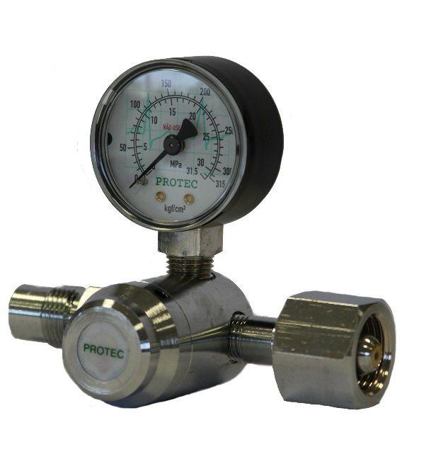 Válvula Reguladora para Cilindro de Ar Comprimido NB218 (Cano Curto)