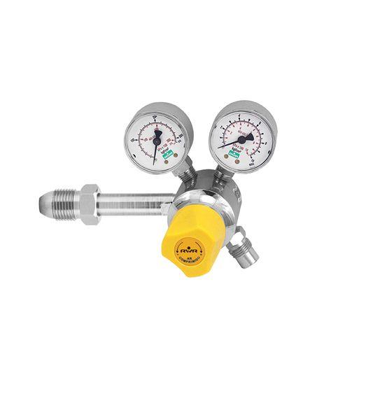 Válvula Reguladora para Cilindro com 2 Manômetros – Ar Comprimido
