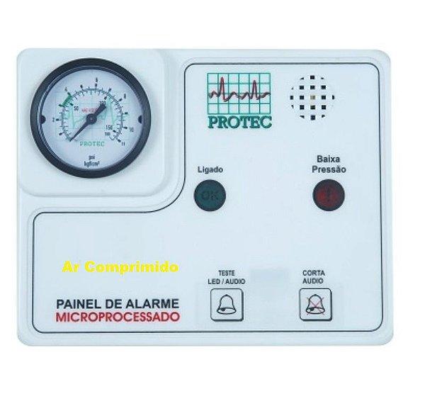 Painel de Alarme para Rede de Gases – Ar Comprimido