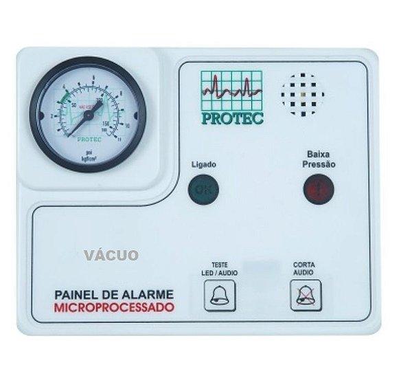 Painel de Alarme para Rede de Gases – Vácuo
