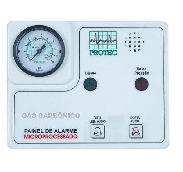 Painel de Alarme para Rede de Gases – Gás Carbônico