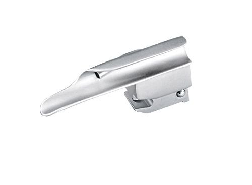 Lâmina para Laringoscópio Reta Fibra Óptica N° 00 – MD