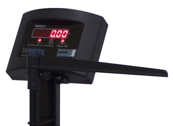 Balança Antropométrica Digital Welmy W200/50 A (200Kg) Preta