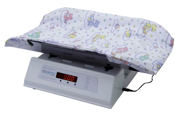 Balança Pediátrica Digital Welmy 109 E (15kg) INOX