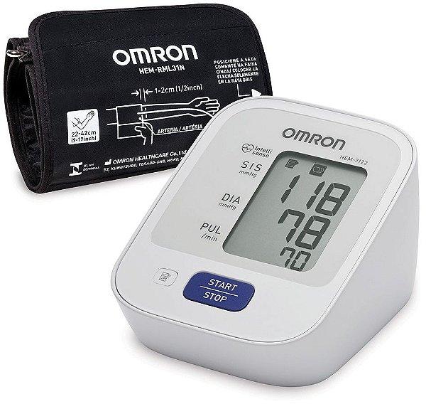 Monitor de Pressão Arterial de Braço HEM7122 Omron