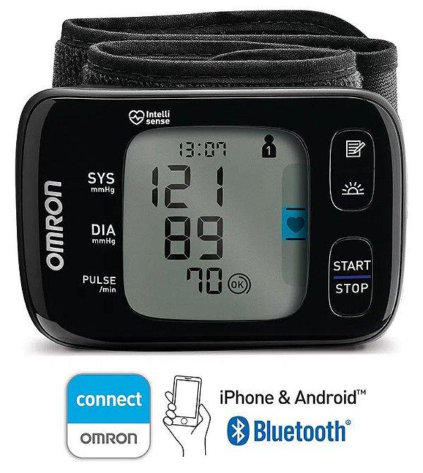 Monitor de Pressão Arterial de Pulso com Bluetooth CONNECT - HEM-6232T