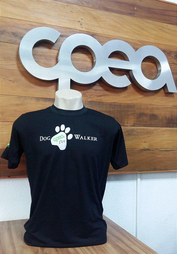 CAMISETA DOG WALKER PRETA