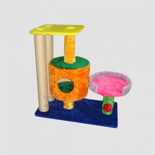 Arranhador 3015 DC Colorido com Catnip