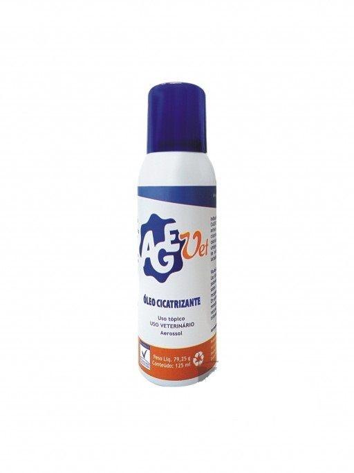 Óleo Spray Cicatrizante Agevet  125 ml