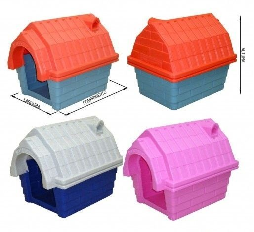 Casa Plástica Cães