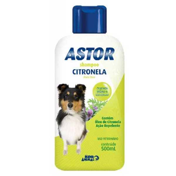 Shampoo Astor Citronela e Carbarila  Mundo Animal