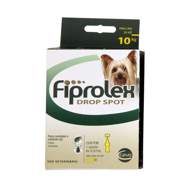 Antipulgas Fiprolex Ceva para Cães 1 a 10 kg