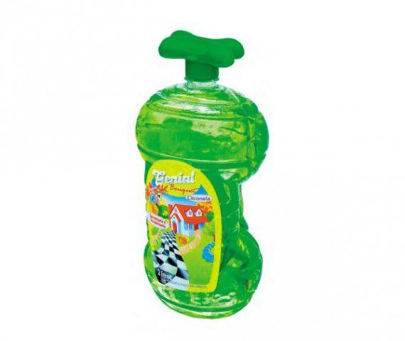 Eliminador Odores Genial Pet Citronela 2 litros