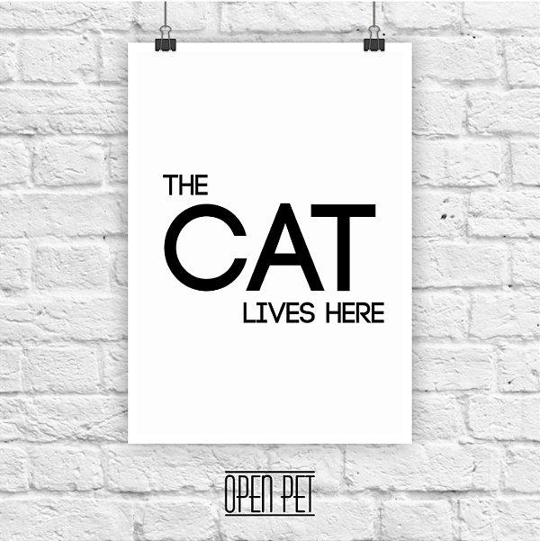 Poster Cat Lives