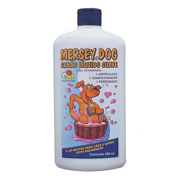 Shampoo Neutro Suave com Antipulgas Mersey
