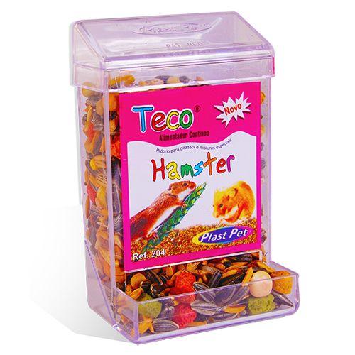 Comedouro Automático para Hamster