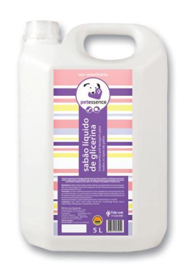 Shampoo Glicerina Pré Lavagem 5 Litros Pet Essence