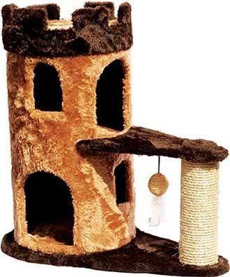 Arranhador Grande Toca Castelo com Catnip
