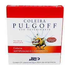Coleira Antipulgas  para Cães e Gatos P 30 cm Pulgoff