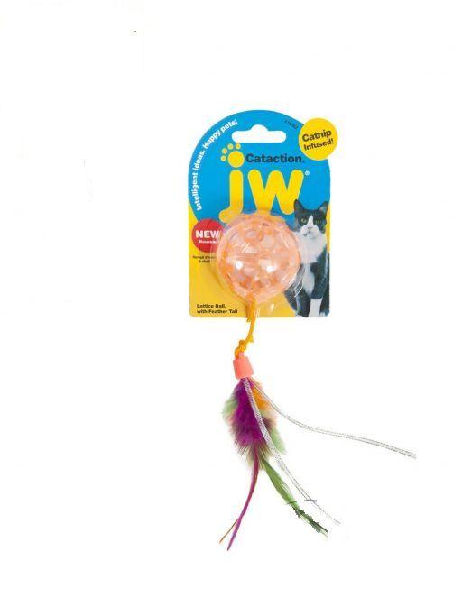 Brinquedo Bola com Catnip JW