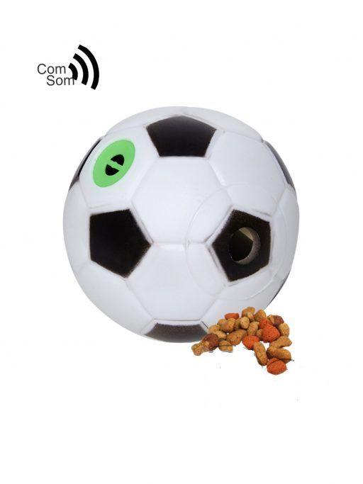 Bola Futebol Porta Ração com Apito Home Pet