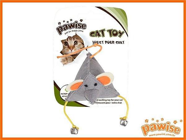 Rato Feltro com Catnip Pawise