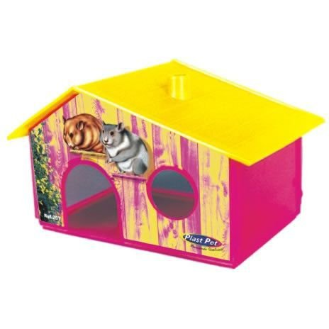 Casinha Hamster Plast Pet