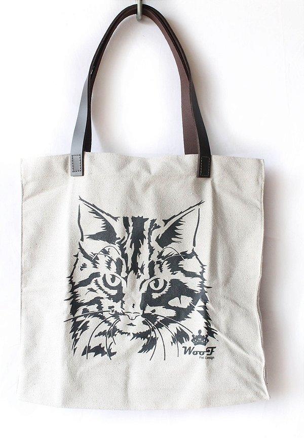 Bolsa Ecobag Cat Woof