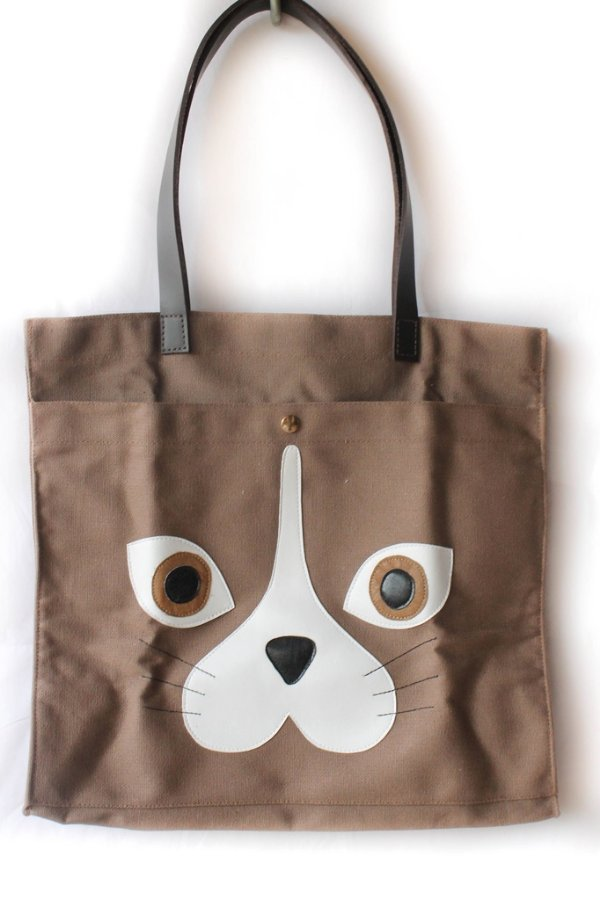 Bolsa Ecobag Cat woof Marrom