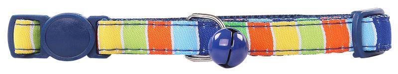 Coleira Gato Stripe Blue Pawise
