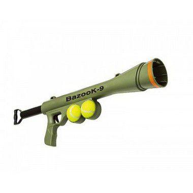 Bazucão Com 2 Bolas de Tênis The Pets Brasil - OpenPet 1a11ed45f2419