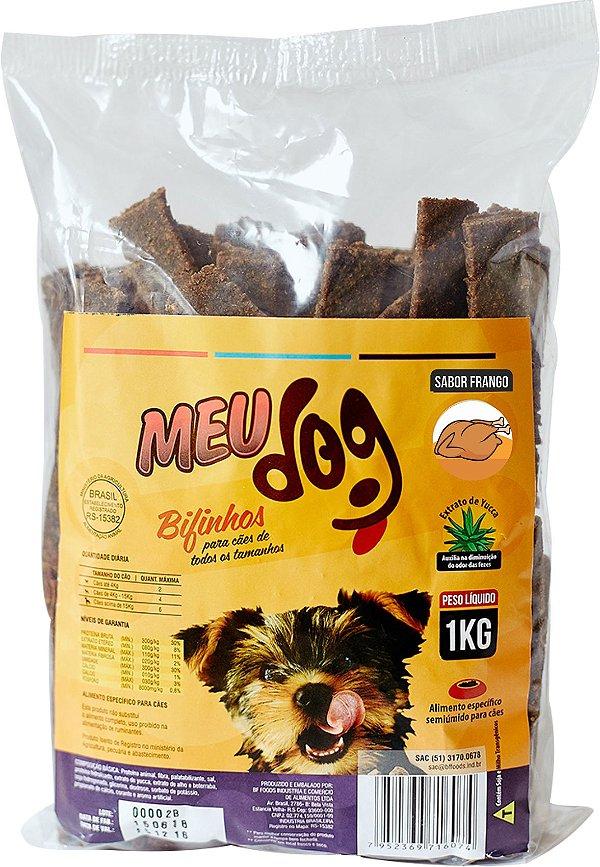 Bifinho Meu Dog Sabor Frango 1kg