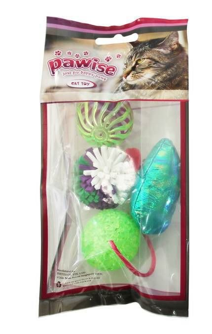 Brinquedo Gato Kit 4 pçs Pawise