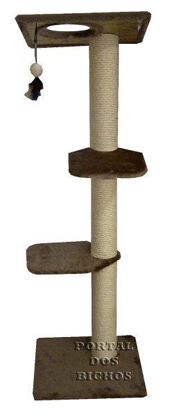 Arranhador Poste 3092 CH 125 cm com Catnip