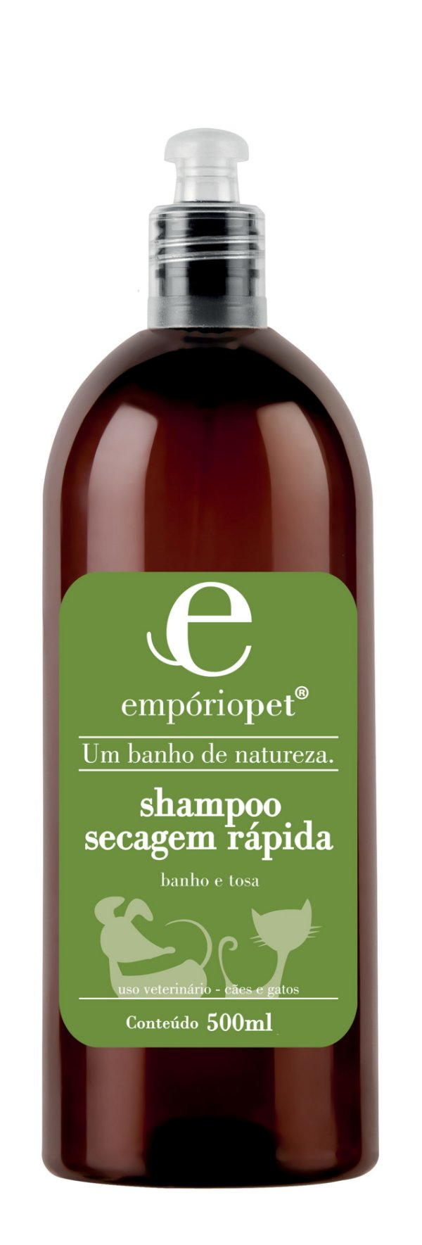 Shampoo Secagem Rápida Empóriopet