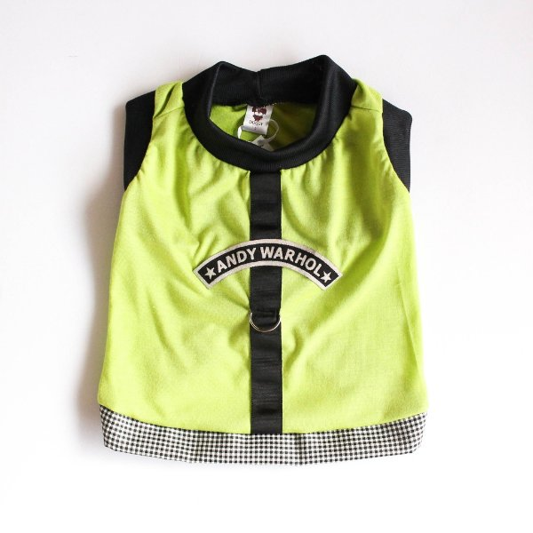 Camiseta Malha Verde/Preto