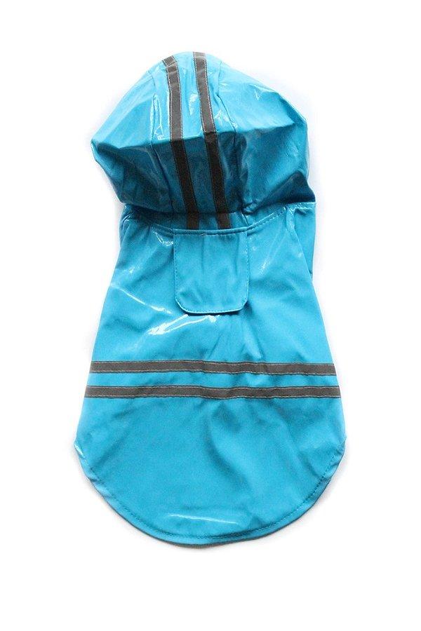 Capa de Chuva Azul