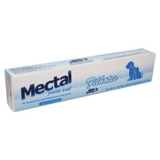 Vermífugo Mectal Filhotes Seringa 15 g Mundo Animal