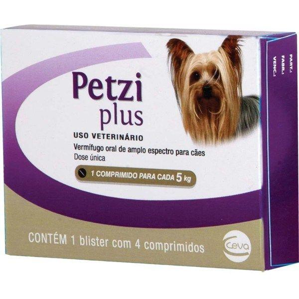 Vermífugo Petzi Plus 5 kg Ceva